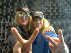 Chip Z'Nuff and Steven Adler