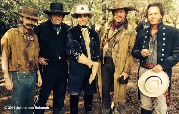 Bringing History To Life: Johnathon Schaech on the set of 'Texas Rising'