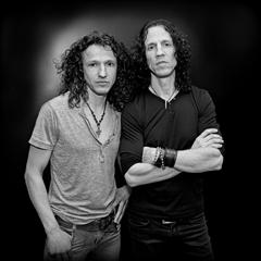 Mark and Gary Cherone