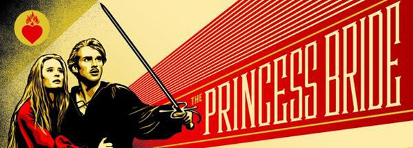 'The Princess Bride' by Shephard Fairey