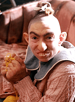"Naomi Grossman as ""Pepper"""