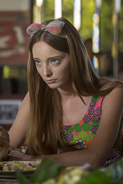 Emma Dumont on 'Aquarius'
