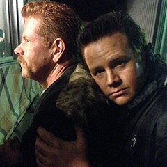 Michael Cudlitz and Josh McDermitt