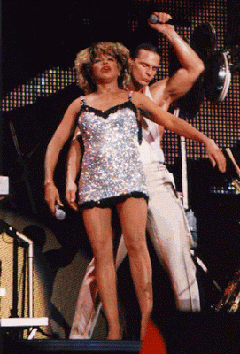 Tina Turner and Timmy Cappello