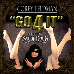 "Corey Feldman's single, ""Go 4 It,"" is available now on iTunes!"