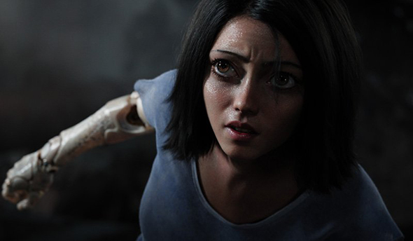 Watch the creepy trailer for Alita