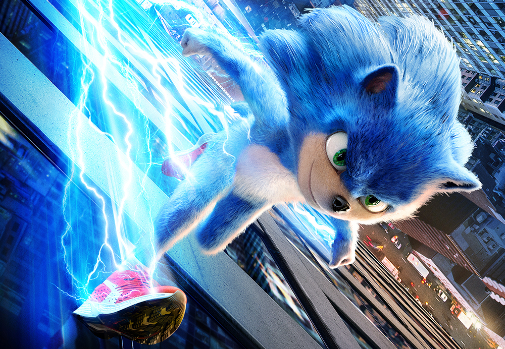 First Official Trailer And Poster For Sonic The Hedgehog Speeds