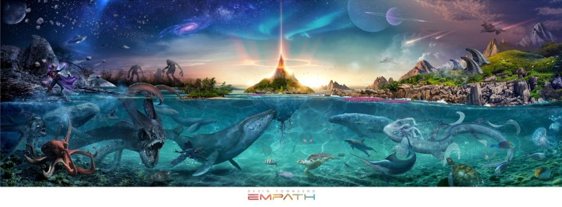"The artwork from Devin Townsend ""Empath"""
