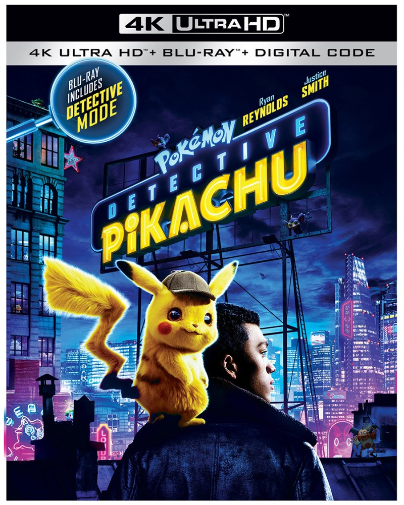 Detective Pikachu on 4K UHD