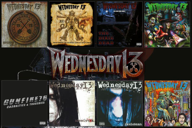 Wednesday 13 on vinyl