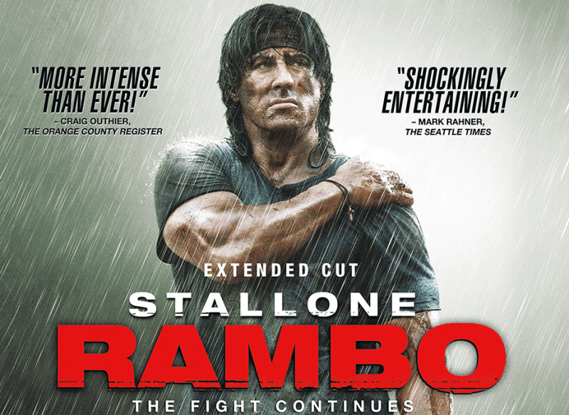 Sylvester Stallone Rambo on 4KHD