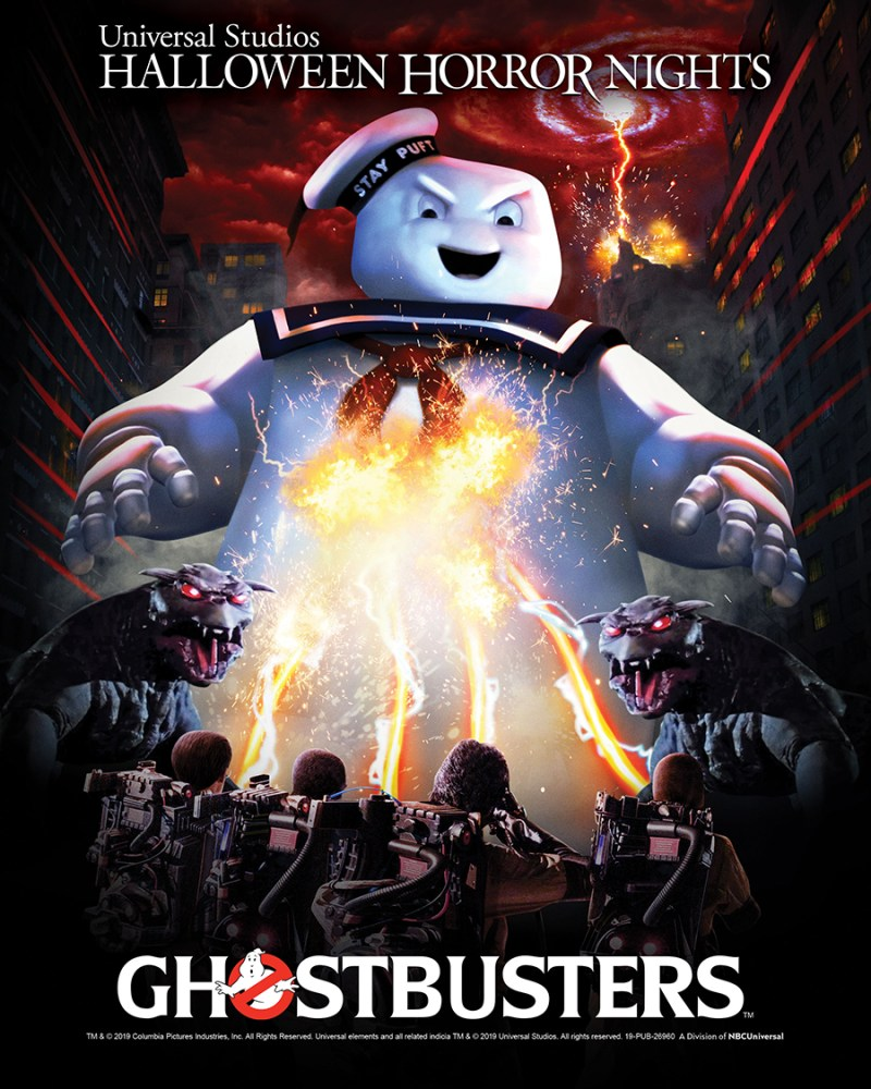 Ghostbusters - Halloween Horror Nights