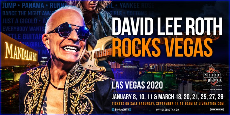 David Lee Roth Rocks Vegas 2020