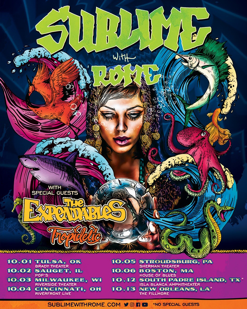 Sublime With Rome tour dates