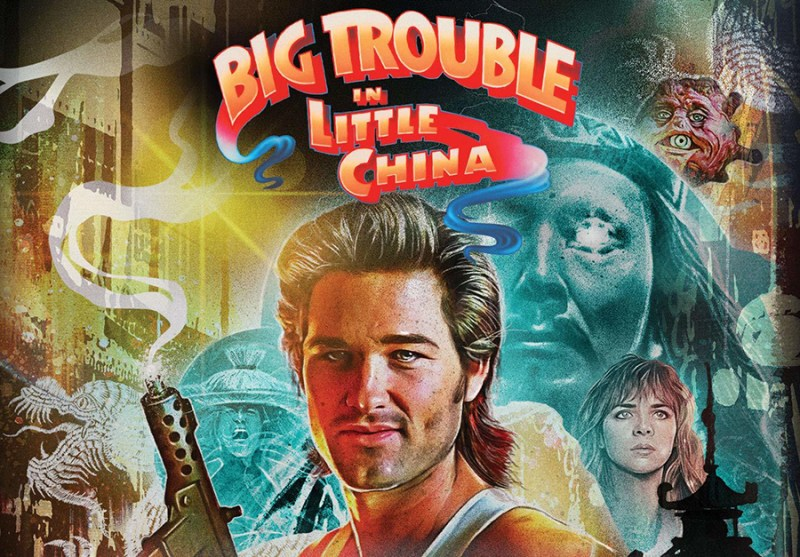 Big Trouble in Little China Collector's Edition Two-Disc Blu-ray set