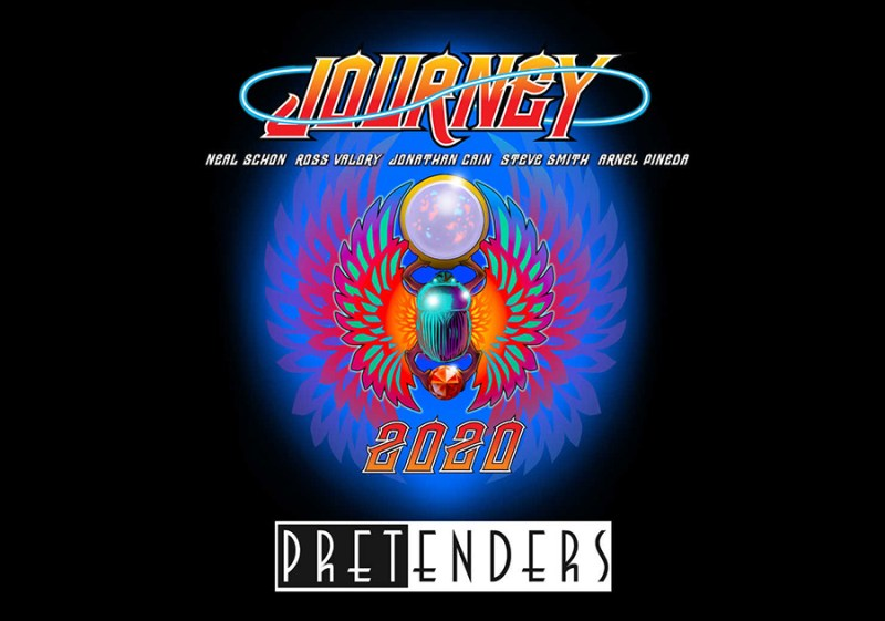 Journey and Pretenders 2020 tour
