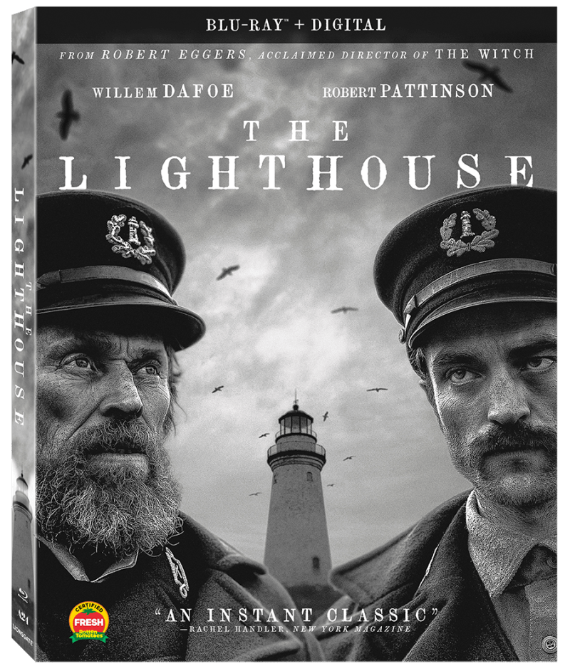 The Lighthouse on Blu-ray