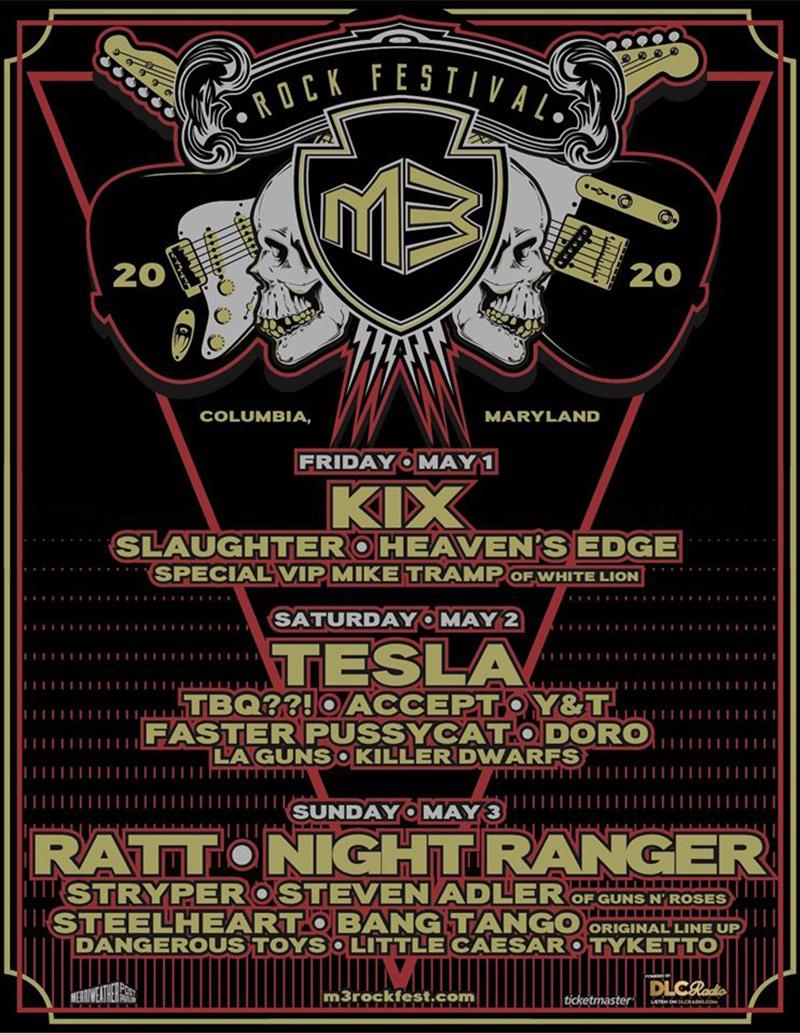M3 Rock Festival 2020