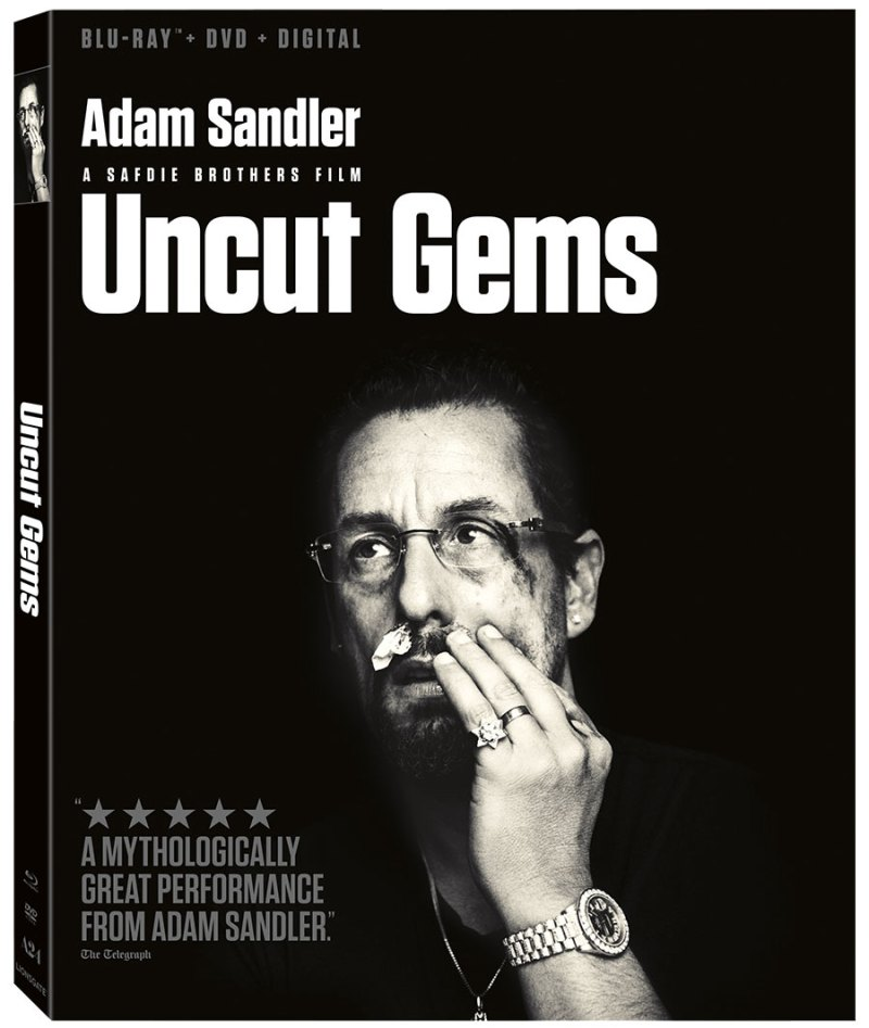 Adam Sandler - Uncut Gems on Blu-ray