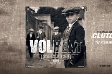 """Volbeat """"Rewind, Replay, Rebound World Tour"""""""