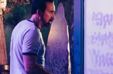 """Nicolas Cage in """"Wally's Wonderland"""""""