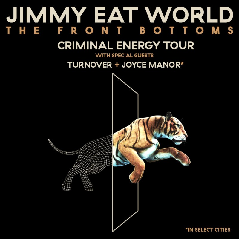Jimmy Eat World - Criminal Energy Tour