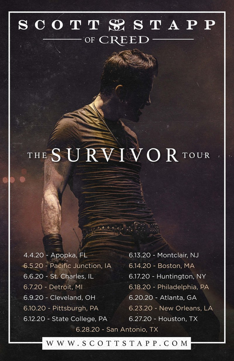 Scott Stapp - The Survivor Tour