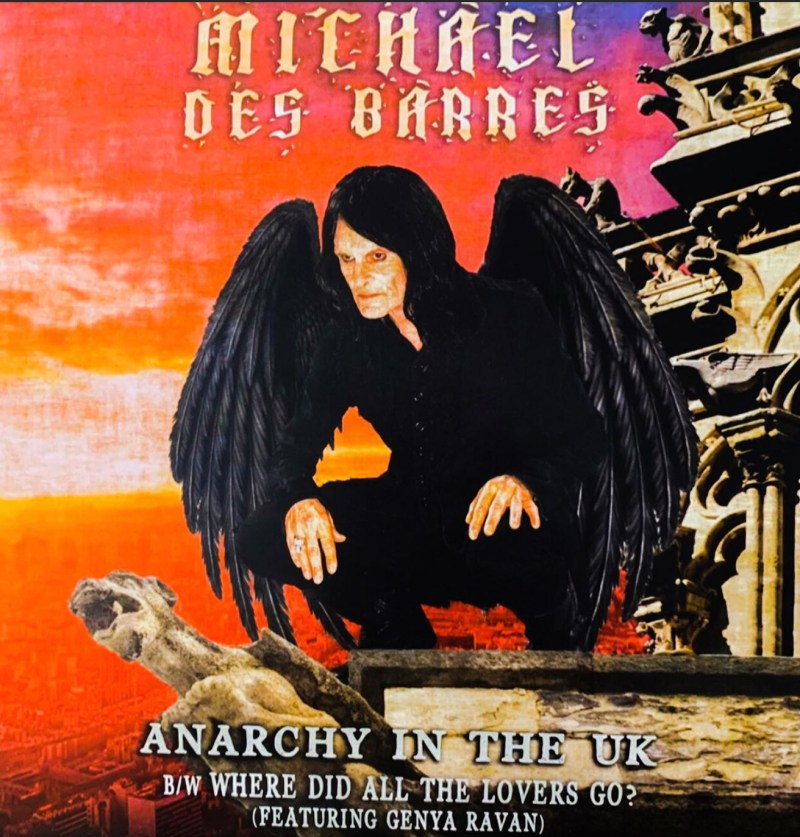 """Michael Des Barres Releases Cover of Sex Pistols' Classic """"Anarchy In The U.K."""""""