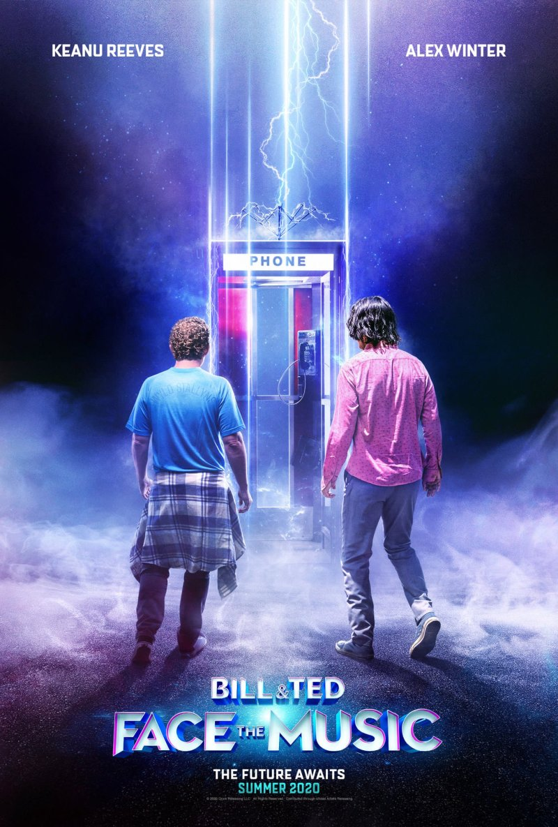 Bill & Ted Face The Music theatrical poster