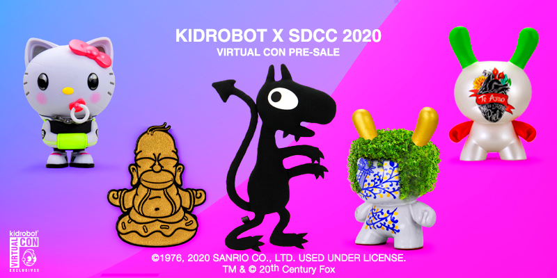Kidrobot Announces the SDCC Virtual Con Pre-Sale!