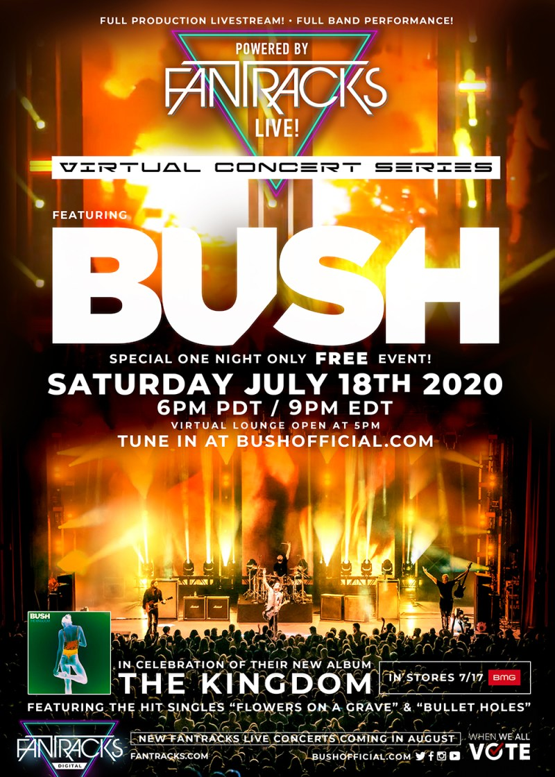 BUSH - Livestream Concert