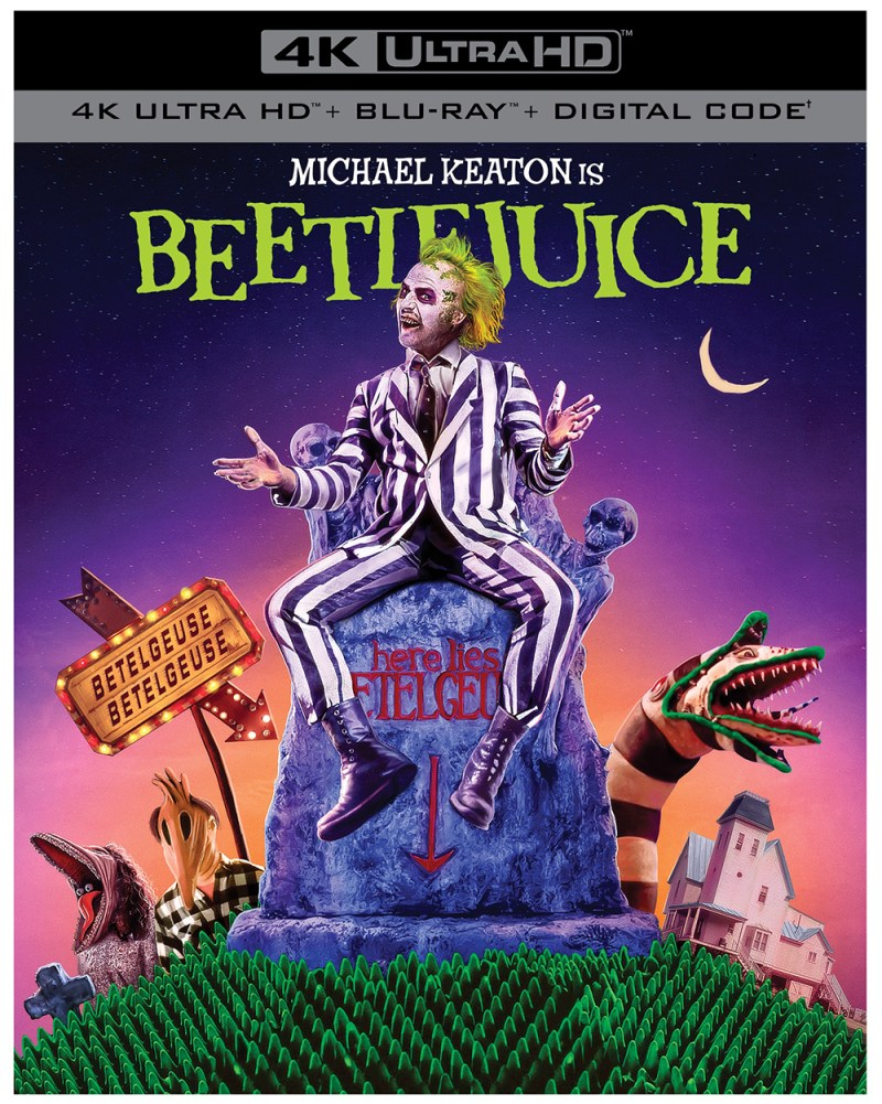 Beetlejuice 4K Ultra HD Blu-ray