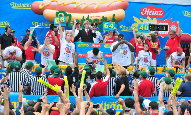 Nathan's Famous Hot Dog-Eating Contest