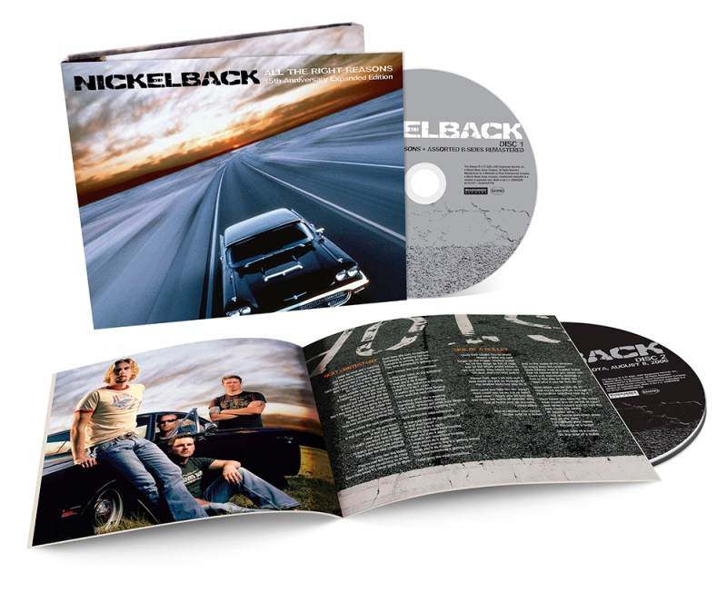 Nickelback 'All the Right Reasons: 15th Anniversary Expanded Edition'
