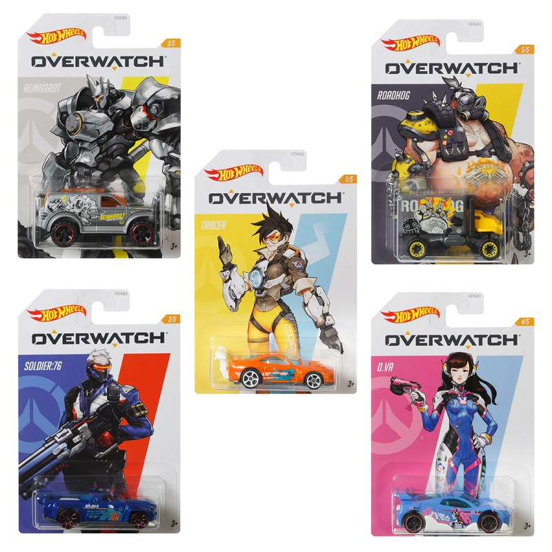 Overwatch Hot Wheels Collection