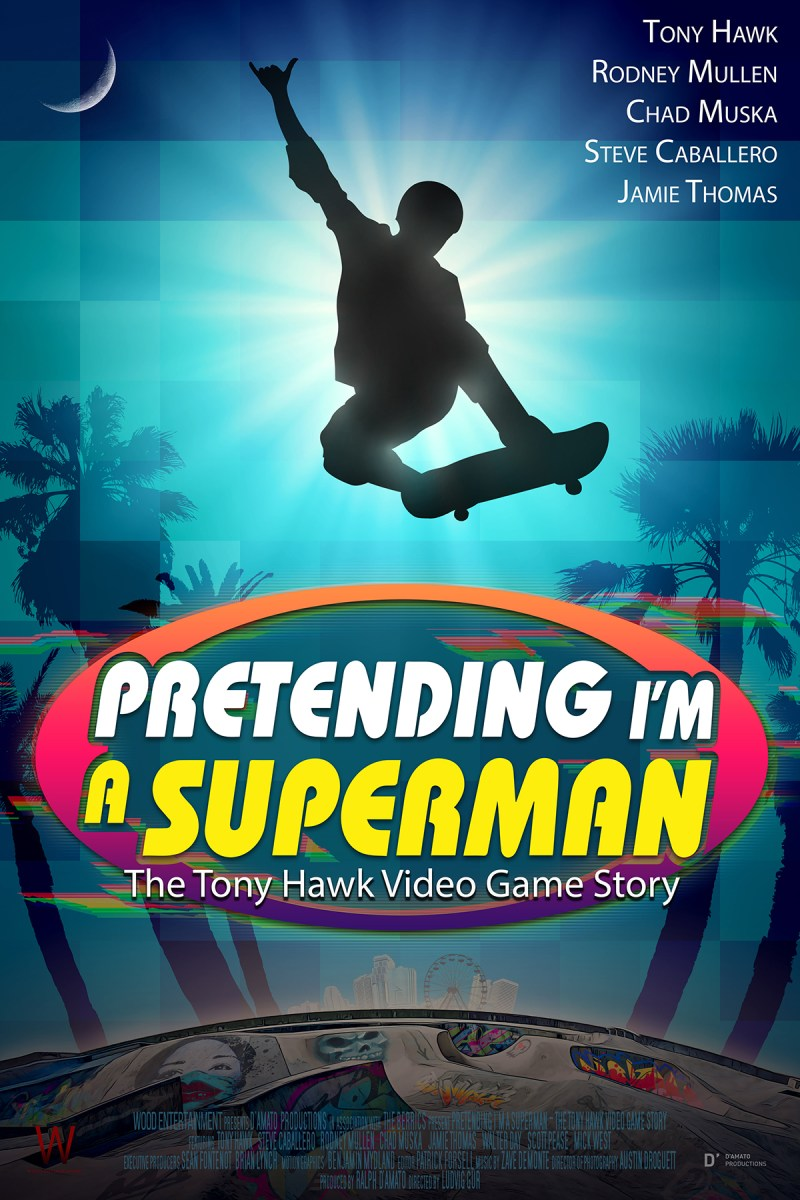 'Pretending I'm A Superman: The Tomy Hawk Video Game Story'