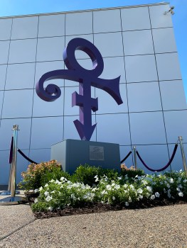 Prince's Love Symbol at Paisley Park - Photo by BEDD Head Media