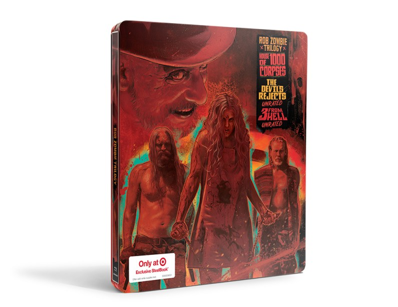 Rob Zombie Trilogy Steelbook