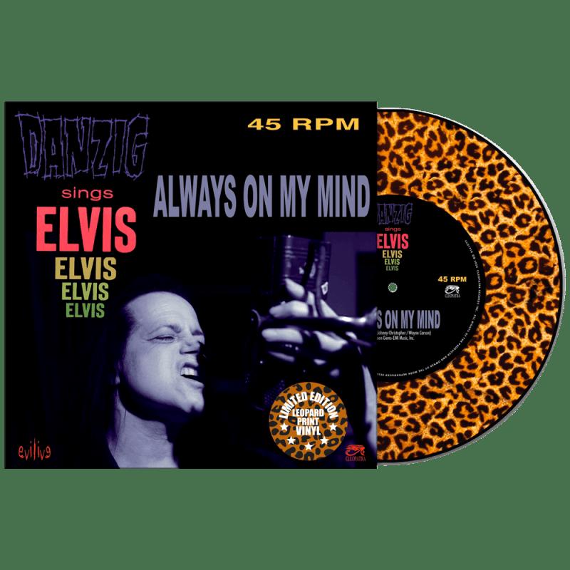 Danzig Sings Elvis - Always On My Mind Vinyl 45