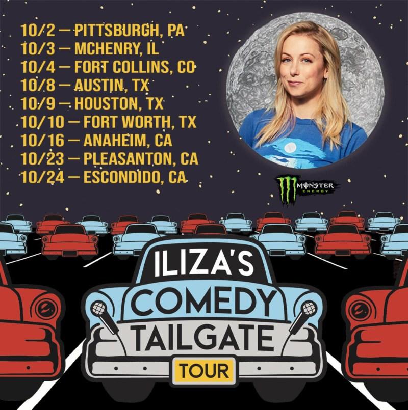Iliza Shlesinger - Iliza's Comedy Tailgate Tou