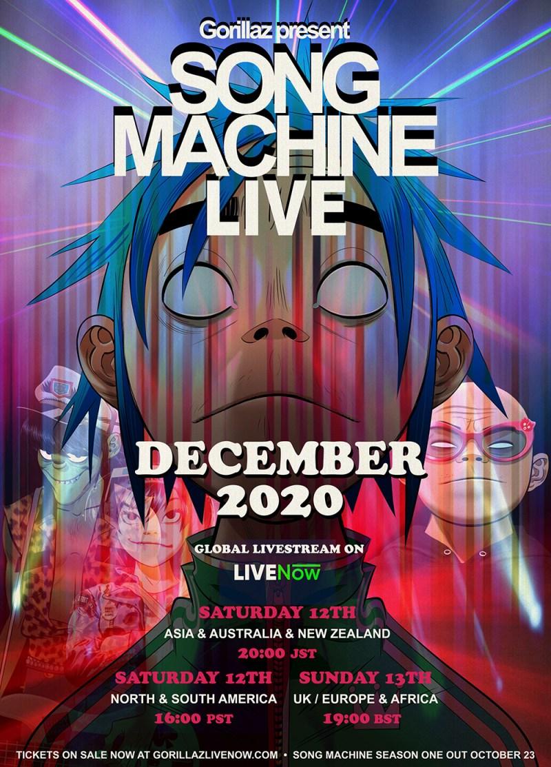 Gorillaz - Song Machine Live