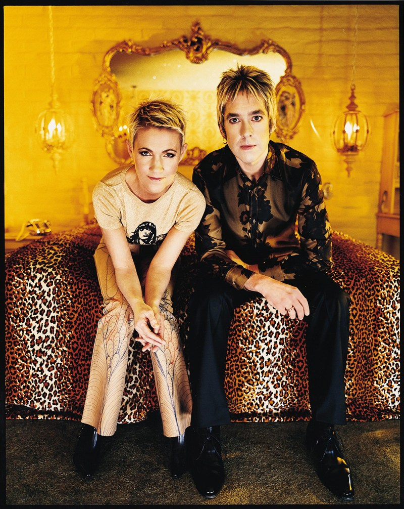 Roxette's Marie Fredriksson and Per Gessle