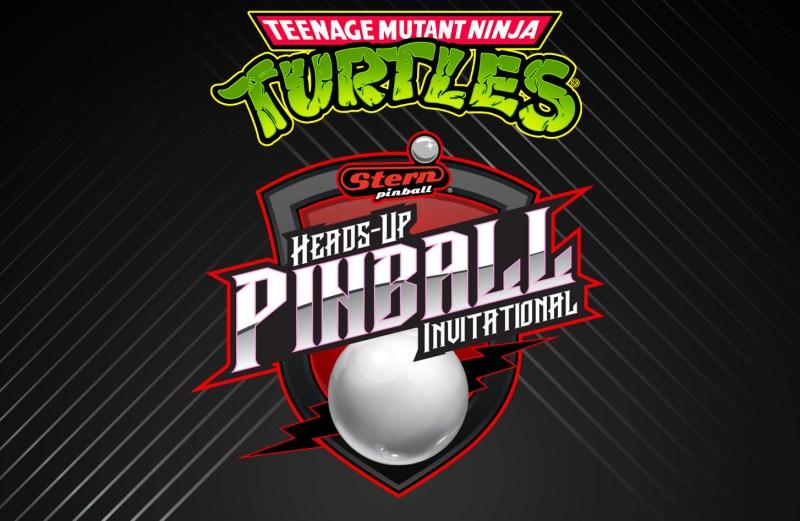 Teenage Mutant Ninja Turtles Stern Heads-Up Pinball Invitational i
