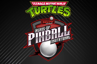 Teenage Mutant Ninja Turtles Stern Heads-Up Pinball Invitational i