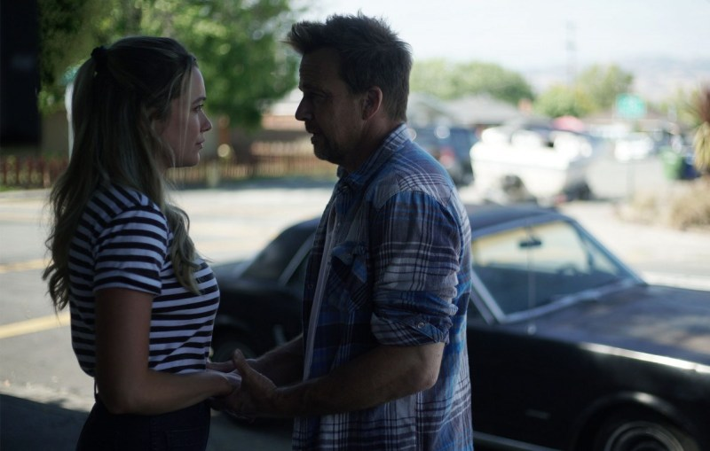 Katrina Bowden and Sean Patrick Flanery light up the screen in 'Born A Champion.'