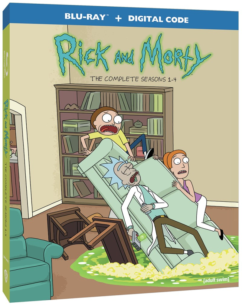 Rick And Morty Season 4 Episode 2 Streaming : morty, season, episode, streaming, Morty:, Seasons, Blu-ray, Release, Slated, March