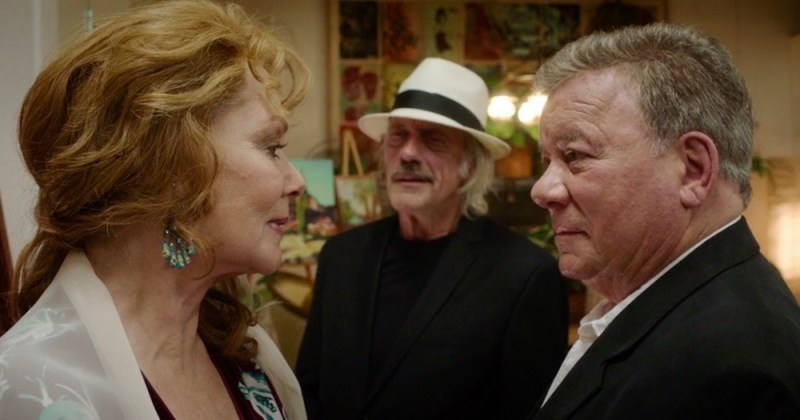 William Shatner, Jean Smart, Christopher Lloyd in 'Senior Moment'