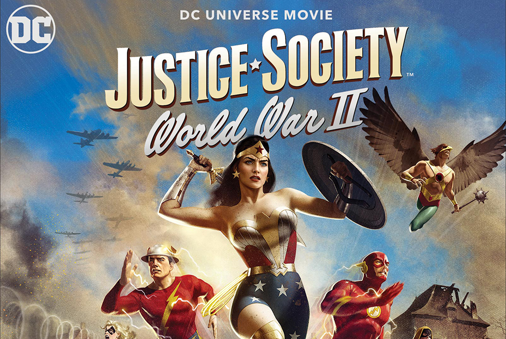 Justice Society: World War II' To Received 4K Ultra HD Blu-ray Release On  May 11th! - Icon Vs. Icon