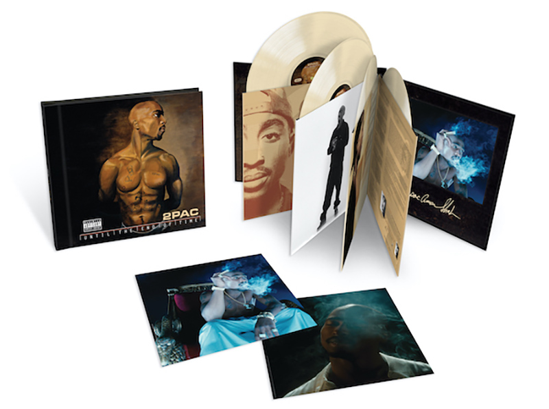 2Pac's multi-platinum album Until The End Of Time will be available July 23 on high quality, 180 gram audiophile grade vinyl