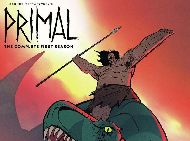 Genndy Tartakovsky's Primal: The Complete First Season on Blu-ray